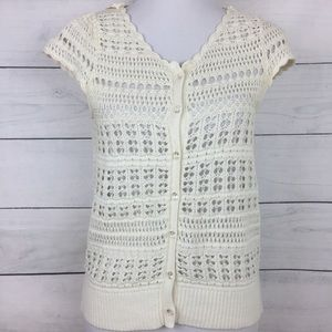 Anthropologie Knitted & Knotted Butterfly Cardigan